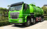 25 tonnellate del fango del serbatoio HOWO del fango da acque di rifiuto di camion resistente di trasporto