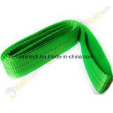Imbracature di sollevamento molli della tessitura del poliestere di alta qualità con il prezzo poco costoso
