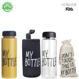 Моя бутылку пластиковую бутылку воды