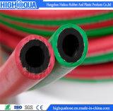 Manguito gemelo de goma flexible de la soldadura del acetileno/del oxígeno/del propano