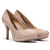 Mesdames talon de la pompe de chaussures chaussures pas cher robe de PU Parti