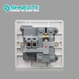 Tomada de 2 pinos + Mf Multi Interruptor de parede Socket da placa de baquelite