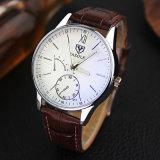 Form-Edelstahl-Rückseiten-Fall-Paar-Uhr der H314 kundenspezifischen Männer für Geschenk