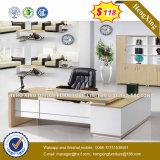 Table des canaux physiques en bois moderne de meubles de bureau de la Chine (UL-MFC467)