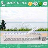 Im Freien Kd Aluminiumaufenthaltsraum-Gartensun-Aufenthaltsraum-PatioDaybed AluminiumSunlounger Poolside-Aufenthaltsraum-moderner Freizeit-Wagen