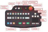 Het dubbele Systeem van het Aftasten van de Bagage van de Röntgenstraal van de Energie voor Kerk, Politie SA8065