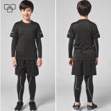 Vente en gros r3fléchissante Chine du T-shirt 2017 pour l'usure faite sur commande de gymnastique d'impression de T-shirt de garçon pour des garçons