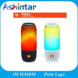 Alto-falante Bluetooth portátil espectáculo de luzes coloridas de alto-falantes de música da minicaixa acústica de voz