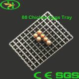 Poseur de plastique durable d'incubateur de cailles de plateau d'oeufs de canard de poulet de volaille