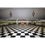 Faciles portatifs extérieurs utilisés de Dance Floor installent le plancher en bois de danse d'usager