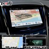Caixa da navegação do GPS do Android 4.4 para a caixa video Waze Youtube da relação do ATS de Cadillac