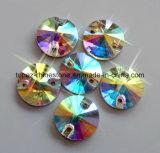 818mm het Bergkristal van de Parel van het Glas naait op de Parels van het Kristal Rivoli (sW-Rivoli 818mm kristal ab)