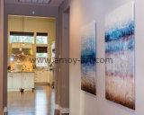 Multi-Panels moderno abstracto hechas a mano pinturas al óleo con textura de arena especial 2pcs/Set