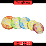 760PCS póquer plástico Ym-Focp002 ajustados microplaquetas)