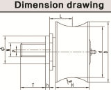 Huayu 76 Short-Alxe ролик для строительства подъемника