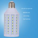 E27 kühlen weißes 110V-220V 5W energiesparendes Licht der Mais-Birnen-LED ab