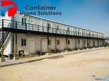 중국은 40FT 콘테이너 홈 또는 편평한 팩 콘테이너 집을 조립식으로 만들었다