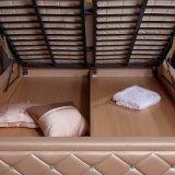 2017寝室セット(FB2103)のための最新のデザイン革ベッド