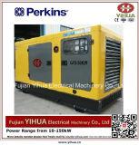 8kw/10kVA stille Diesel die Generator door Perkins-20171010e wordt aangedreven