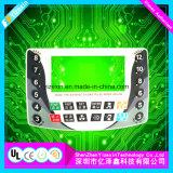 Pulsador capacitivo de teclados de membrana