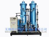 A estação de enchimento do cilindro de gás nitrogênio