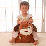 中国の卸し売りカスタムプラシ天動物犬の柔らかく安い子供のソファー
