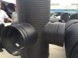 Schwarzes Farbe Dn1000 Zelle-Wand HDPE Rohr für Wasser-Rohrleitung