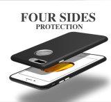 Contraportada Electroplated de la mata TPU del estilo simple de lujo del asunto para el iPhone