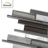 卸し売り品質保証の屋内艶をかけられたストリップのガラスまたは金属のモザイク・タイル