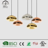 Moderner Entwurfs-Innendekoration-Beleuchtung-Glaspilz-Form-hängende Lampe