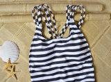 Frauen-Strand-Abnützung-fällige Bikini-Badeanzug-Einteiler-Badebekleidung