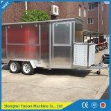 Ys-Fw400A móviles de aluminio Camión camión de alimentos para la venta en Europa