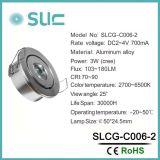 3W en iluminación LED en el Gabinete para cocina (SLCG-C006-2)