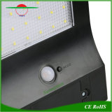 Ultracompacto 800lm la luz solar de Pared LED Lámpara de jardín al aire libre