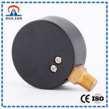 Tipos personalizados do calibre de pressão do medidor de água do metal