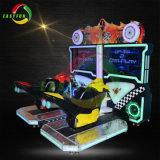 Het muntstuk stelde het Rennen van de Afwijking van Moto van 32 Duim de fiets-Arcade van de Simulator het Rennen de Machine van het Spel in werking