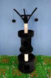 Torre del árbol de actividad del gato del animal doméstico, postes de la Sisal-Cuerda para rasguñar