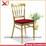 Napoleón silla de aluminio de alta calidad para la boda/restaurante/Hotel/banquete