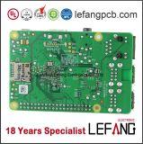 PCB платы с печатным монтажом припоя 1.6mm зеленый для сообщения