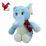 최고 귀여운 연약한 견면 벨벳 아기 코끼리 장난감