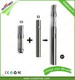 Ocitytimes C5-2 510 tanque de vidrio de 0,5 ml/CBD/Thc Cáñamo/CO2 Cartucho vaporizador