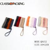 2018 Classic PU мех косметический мешок составляют Zipper Bag