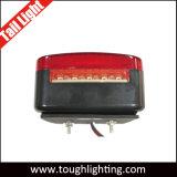 고품질 4 인치 사각 LED 테일 빛, 정지 또는 회전 또는 테일 LED 트레일러 빛