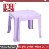 Moulage en plastique de meubles de Tableau dinant de rotin de jardin d'injection