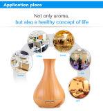 difusor de madera del aroma del petróleo esencial del grano del nuevo diseño del florero 400ml