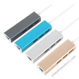 Hub USB 3.0 aan RJ45 LAN van Gigabit Adapter 10/100/1000m Kabel
