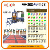 Qtf3-20 brique hydraulique automatique Making Machine en provenance de Chine
