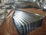 Aluzinc Telha/Chapas Galvanizadas Galvalume/Folha de aço de metal corrugado para coberturas de instrumentos