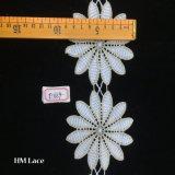 9cm Lint van het Kant van het Kant van de Versiering van de Bloem van 12 Pedalen het Grote Eenvoudige voor Decoratie Hme869