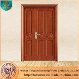 Desheng diseños con doble puerta de madera interior